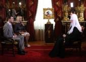 Святейший Патриарх Кирилл ответил на вопросы украинских тележурналистов