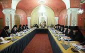 Святейший Патриарх Кирилл возглавил Архиерейское совещание по итогам первого этапа преподавания Основ православной культуры в регионах России