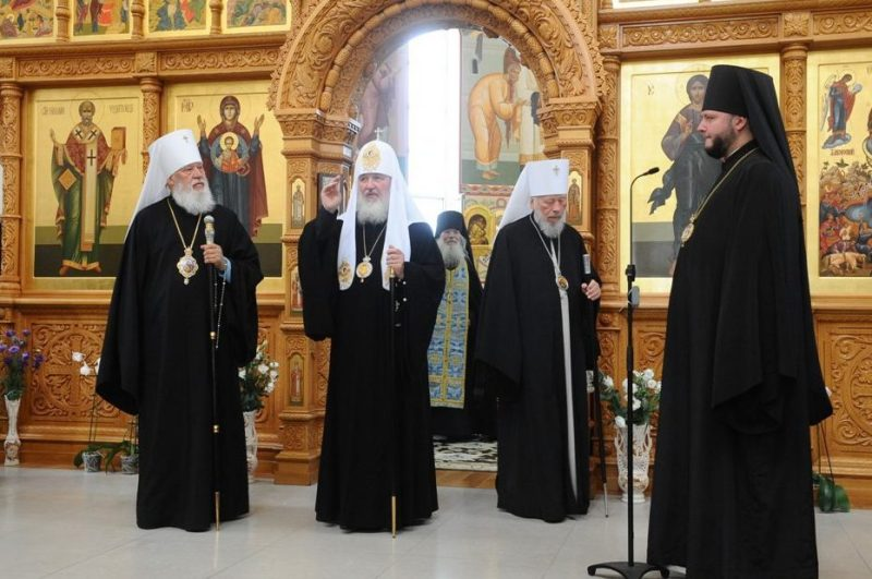 Патриарший визит на Украину. Посещение Свято-Успенского мужского монастыря г. Одессы.