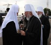 Святейший Патриарх Московский и всея Руси Кирилл прибыл в Одессу