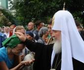 Святейший Патриарх Московский и всея Руси Кирилл посетил Успенский мужской монастырь в Одессе