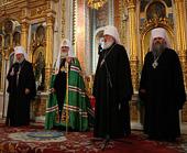 Святейший Патриарх Московский и всея Руси Кирилл посетил Успенский кафедральный собор города Одессы