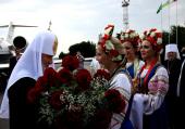 Ряд российских и украинских телеканалов ведут трансляции с основных мероприятий Патриаршего визита на Украину