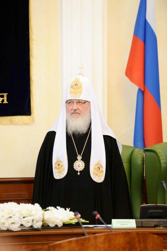Патриарший визит на Украину. Присвоение Святейшему Патриарху Кириллу степени почетного доктора Одесской национальной юридической академии.