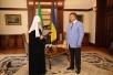 Патриарший визит на Украину. Встреча с Президентом Украины В.Ф. Януковичем.
