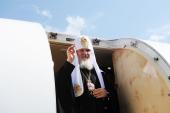 Завершилось пребывание Святейшего Патриарха Кирилла в Днепропетровской епархии
