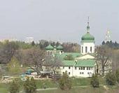 Святейший Патриарх Кирилл посетил Ионинский монастырь в Киеве