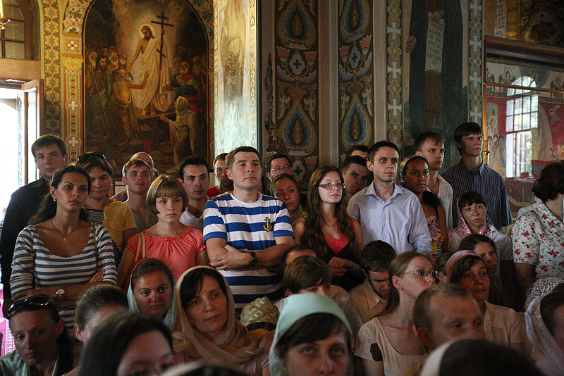 Патриарший визит на Украину. Посещение Ионинского монастыря в Киеве.
