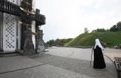 Святейший Патриарх Кирилл почтил память воинов Великой Отечественной войны и жертв массового голода 1930-х годов