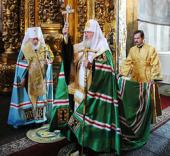 С 20 по 28 июля состоялся Первосвятительский визит Святейшего Патриарха Кирилла на Украину