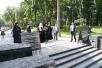 Патриарший визит на Украину. Посещение мемориала Славы и памятника жертвам массового голода 1930-х годов в Киеве.