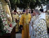 В канун дня памяти святого равноапостольного князя Владимира Святейший Патриарх Кирилл совершил всенощное бдение в Успенской Киево-Печерской лавре