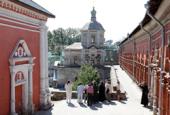 Епископ Зарайский Меркурий и директор Государственного Исторического музея А.К. Левыкин обсудили вопросы восстановления Высоко-Петровского монастыря