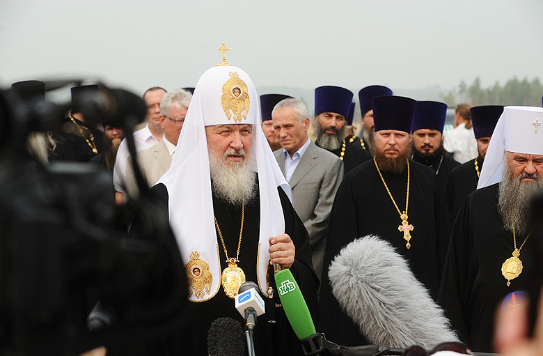 Первосвятительский визит в Нижегородскую епархию. Прибытие в Саров.