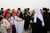 Начался Первосвятительский визит Святейшего Патриарха Кирилла в Нижегородскую епархию