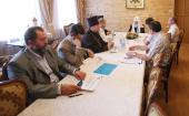 Состоялась встреча Святейшего Патриарха Кирилла с членами правления Благотворительного фонда прп. Серафима Саровского
