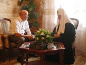 Святейший Патриарх Кирилл встретился с губернатором Нижегородской области В.П. Шанцевым