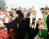 С 31 июля по 2 августа состоялся визит Святейшего Патриарха Кирилла в Нижегородскую епархию