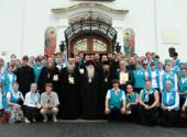 Митрополит Минский Филарет встретился с участниками III международного съезда «Содружество православной молодежи»