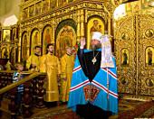 В Вознесенском кафедральном соборе Алма-Аты прошли торжества по случаю по случаю утверждения канонического статуса Православной Церкви в Республике Казахстан