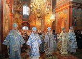 Митрополит Ювеналий возглавил торжества по случаю престольного праздника в Новодевичьем монастыре