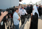 Святейший Патриарх Кирилл: Дай Бог всем нам возрастать в единстве и солидарности