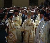 Впервые за несколько десятилетий в древней обители Панагия Сумела совершена Божественная литургия