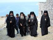 Делегация Русской Православной Церкви побывала на престольном празднике Свято-Пантелеимонова монастыря на Афоне