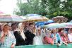 Первосвятительский визит в Псковскую епархию. Всенощное бдение на площади у Михайловского собора Свято-Успенского Псково-Печерского монастыря.