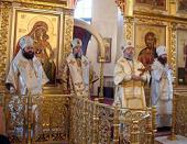 Состоялись торжества по случаю 15-летия образования Абаканской и Кызылской епархии