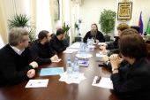 В Отделе религиозного образования и катехизации состоялось рабочее совещание руководителей секторов Отдела
