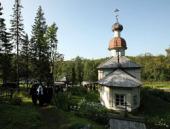Святейший Патриарх Кирилл посетил острова Соловецкого архипелага