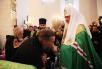 Патриарший визит на Соловки. День второй. Чин наречения архимандрита Пантелеимона (Шатова) во епископа Орехово-Зуевского и архимандрита Вениамина (Лихоманова) во епископа Рыбинского.
