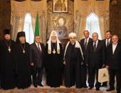 Состоялась рабочая встреча Святейшего Патриарха Кирилла с председателем Управления мусульман Кавказа шейх-уль-исламом Аллахшукюром Паша-заде