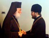 Состоялась встреча председателя ОВЦС с Александрийским Патриархом