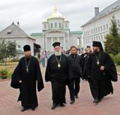 Нижегородскую епархию посетила делегация британского благотворительного общества «Друзья святой горы Афон»