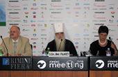 Митрополит Минский и Слуцкий Филарет выступил с докладом на христианском форуме в Римини