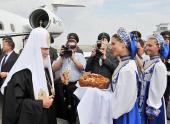 Святейший Патриарх Кирилл прибыл с Первосвятительским визитом в Липецкую епархию