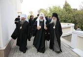 Предстоятель Русской Церкви посетил Липецкое епархиальное управление