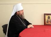 Интервью митрополита Астанайского Александра газете «Казахстанская правда»