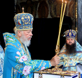 Блаженнейший митрополит Владимир возглавил богослужения по случаю престольного праздника Свято-Успенской Киево-Печерской лавры