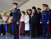 У стен Донского монастыря в Москве открылась первая казачья выставка-ярмарка