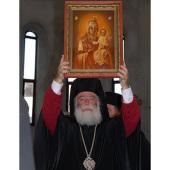 Блаженнейший Патриарх Александрийский Феодор посетил Северную Осетию