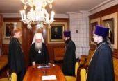 Митрополит Крутицкий и Коломенский Ювеналий наградил священников, принявших участие в спасении людей во время пожаров