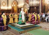 Слово Святейшего Патриарха Кирилла перед молебном на начало нового учебного года в Храме Христа Спасителя