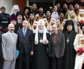 Предстоятель Русской Церкви призвал укреплять казачью солидарность на всем пространстве Святой Руси