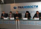 В РИА «Новости» прошла пресс-конференция, посвященная прибытию мощей святителя Спиридона Тримифунтского в Россию