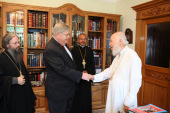 Состоялась встреча Предстоятеля Украинской Православной Церкви с послом США на Украине