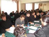 В Общецерковной аспирантуре начались вступительные экзамены