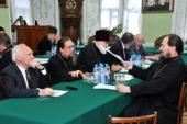 Утвержден состав Научно-методического совета Московской духовной академии